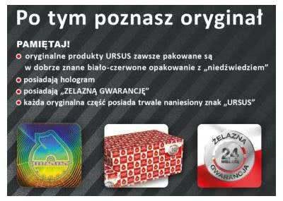Cechy oryginalnych części marki Ursus